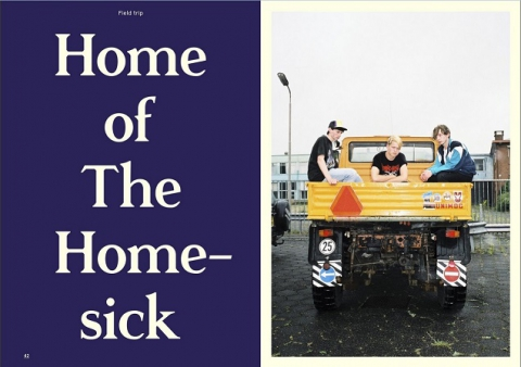The Homesick uit Dokkum in Subbacultcha Magazine